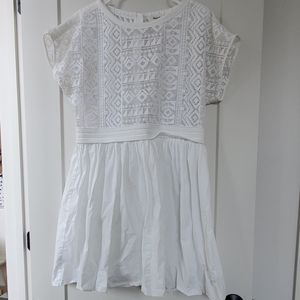 Beautiful Madewell white dress